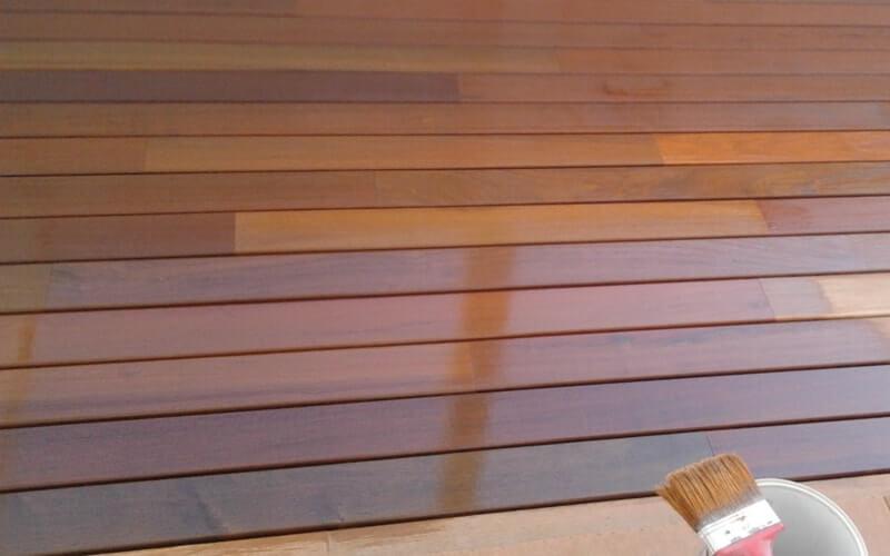 Madera para suelo cool suelos de madera color marron - Suelo madera ikea ...