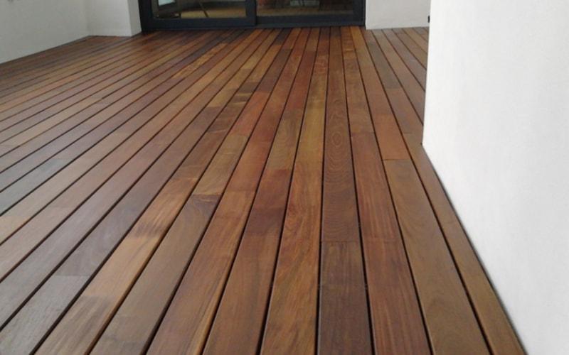 Suelo de madera ipe de exterior para terrazas - Suelo exterior madera ...