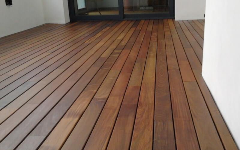 Suelo de madera ipe de exterior para terrazas - Suelo terraza exterior precios ...