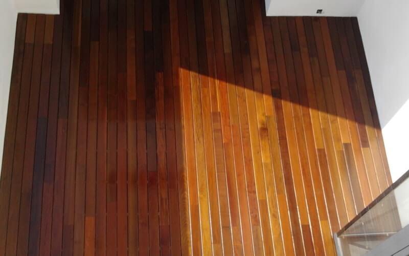Suelo de madera ipe de exterior para terrazas - Suelos de madera para exterior ...