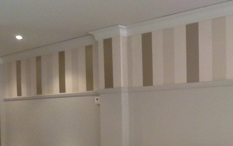 Decoraci n de paredes papel pintado vinilos y fotomural - Papel pintado pasillo ...
