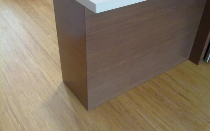 suelo de bamb para cocinas